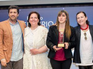 Premio Mercurio para Scopesi por Geoplanning MAS